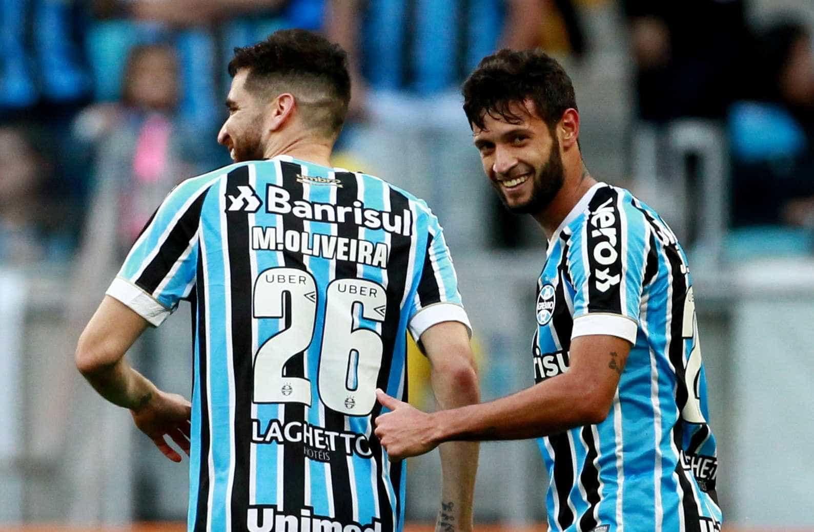Jogadores do Grêmio admitem que derrota para o Palmeiras afastou título