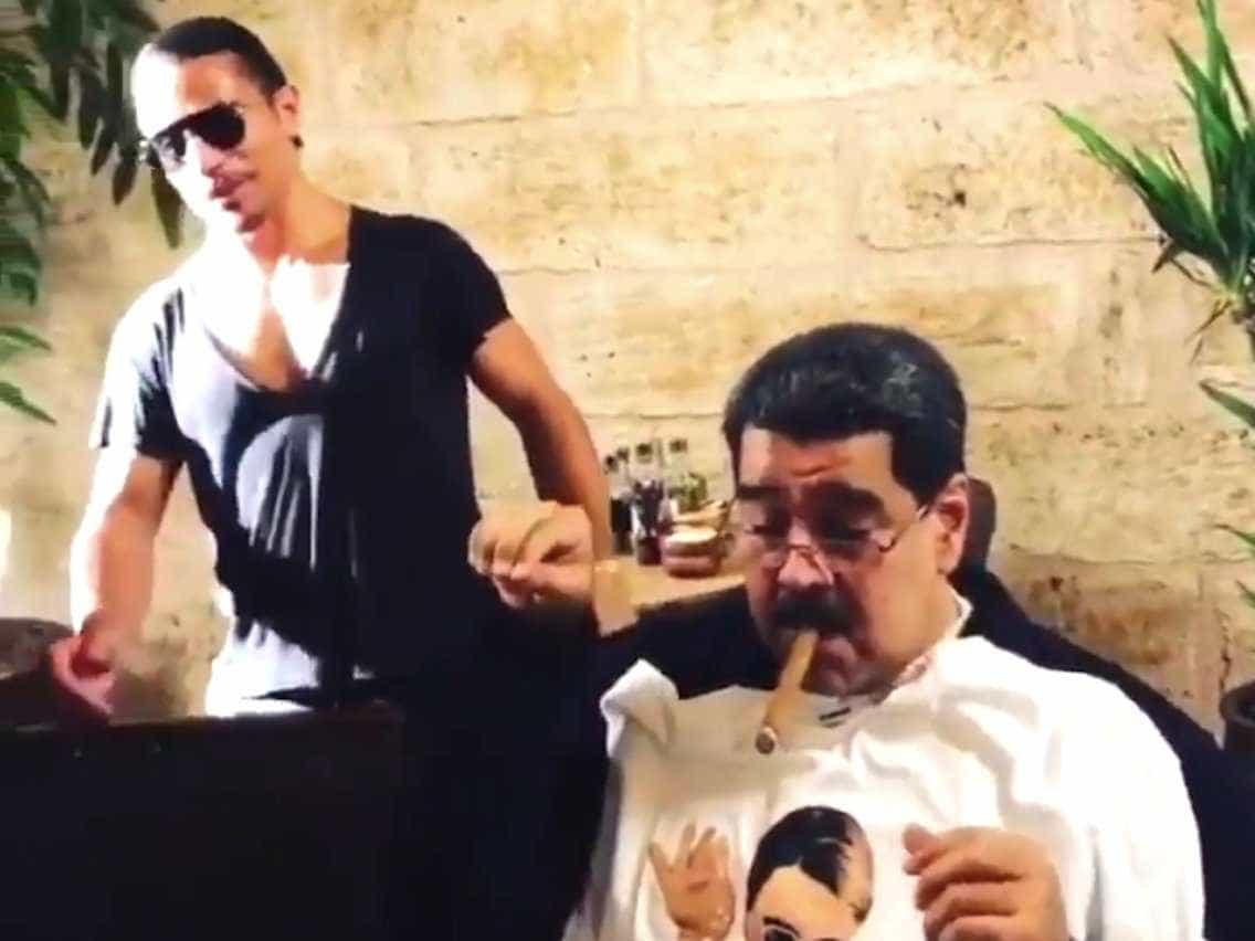 Vídeo de Maduro em restaurante famoso de Istambul irrita venezuelanos