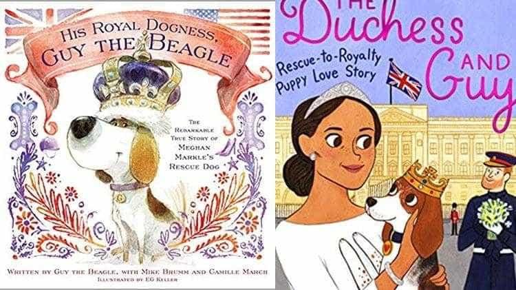Cachorro adotado por Meghan Markle ganha biografia ilustrada