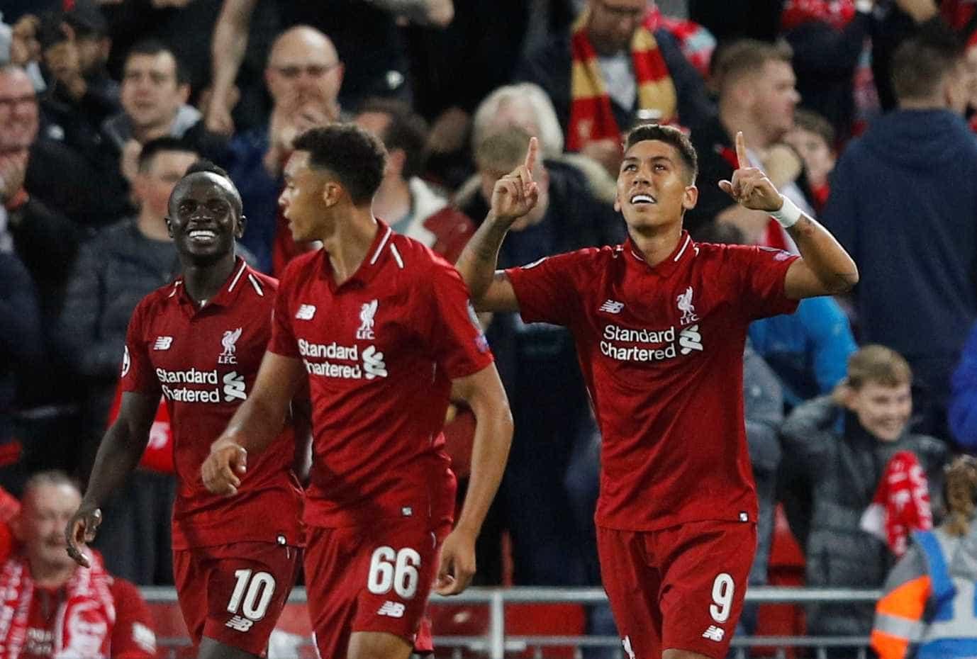 Firmino marca e dá vitória ao Liverpool sobre o PSG de Neymar