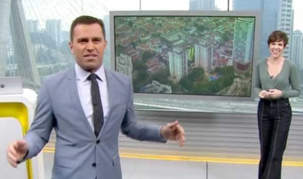 Jornalista da Globo fala pela 1ª vez sobre briga com colega ao vivo