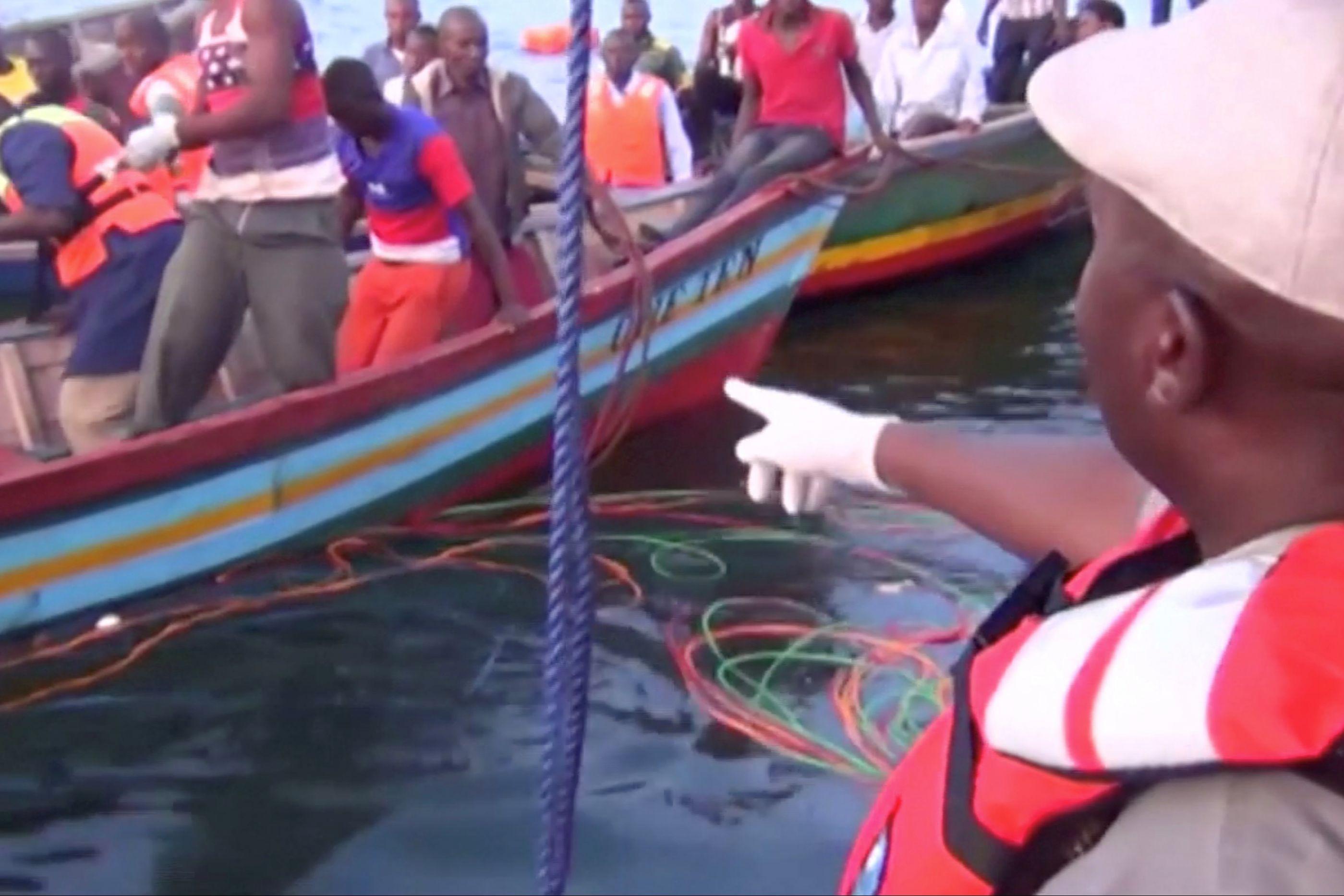 Sobe para 207 número de mortos em naufrágio na Tanzânia