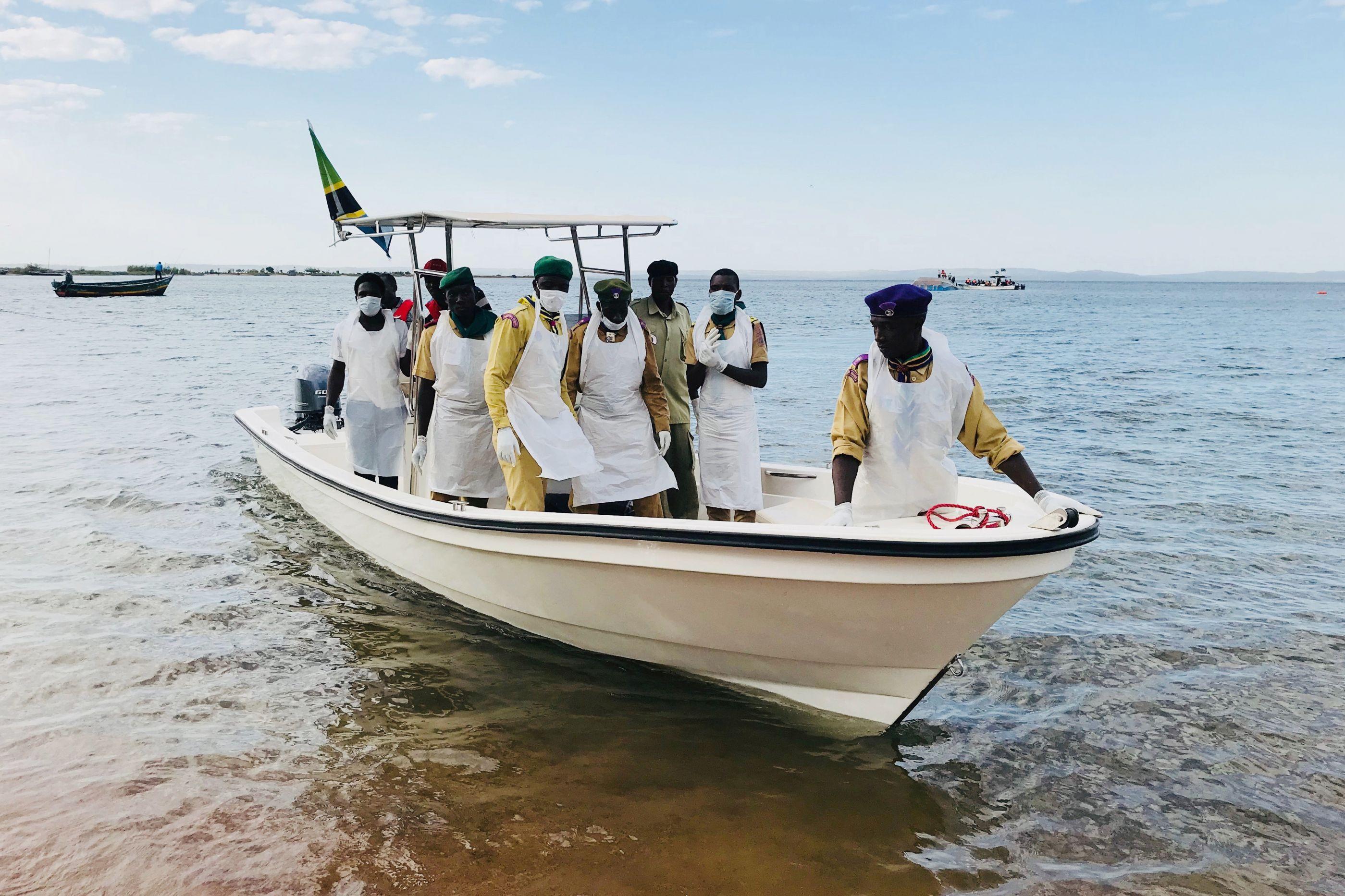 Homem é resgatado vivo após naufrágio com 207 mortos na Tanzânia