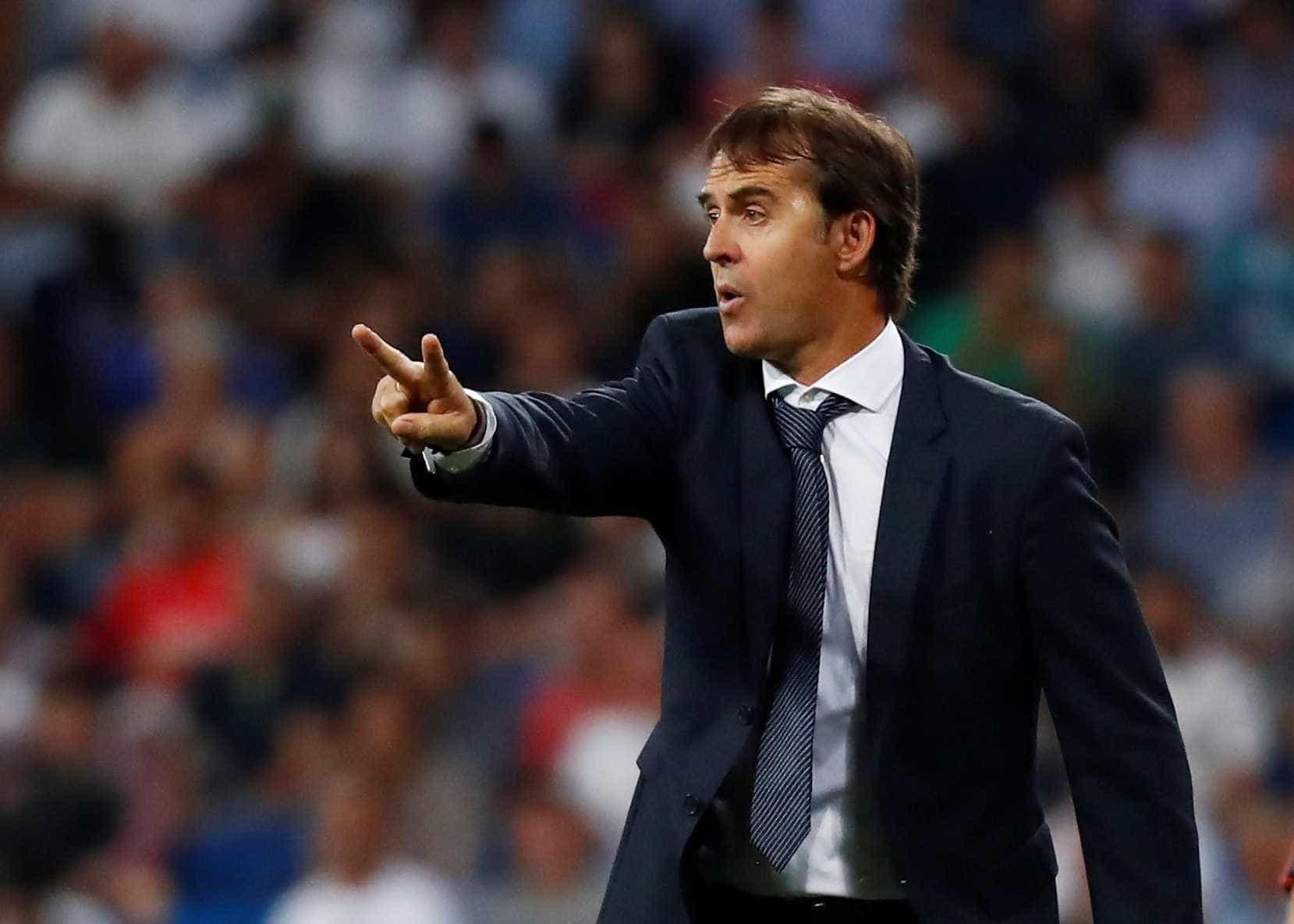 Treinador explica corte de Vinícius Júnior de jogo do Real Madrid
