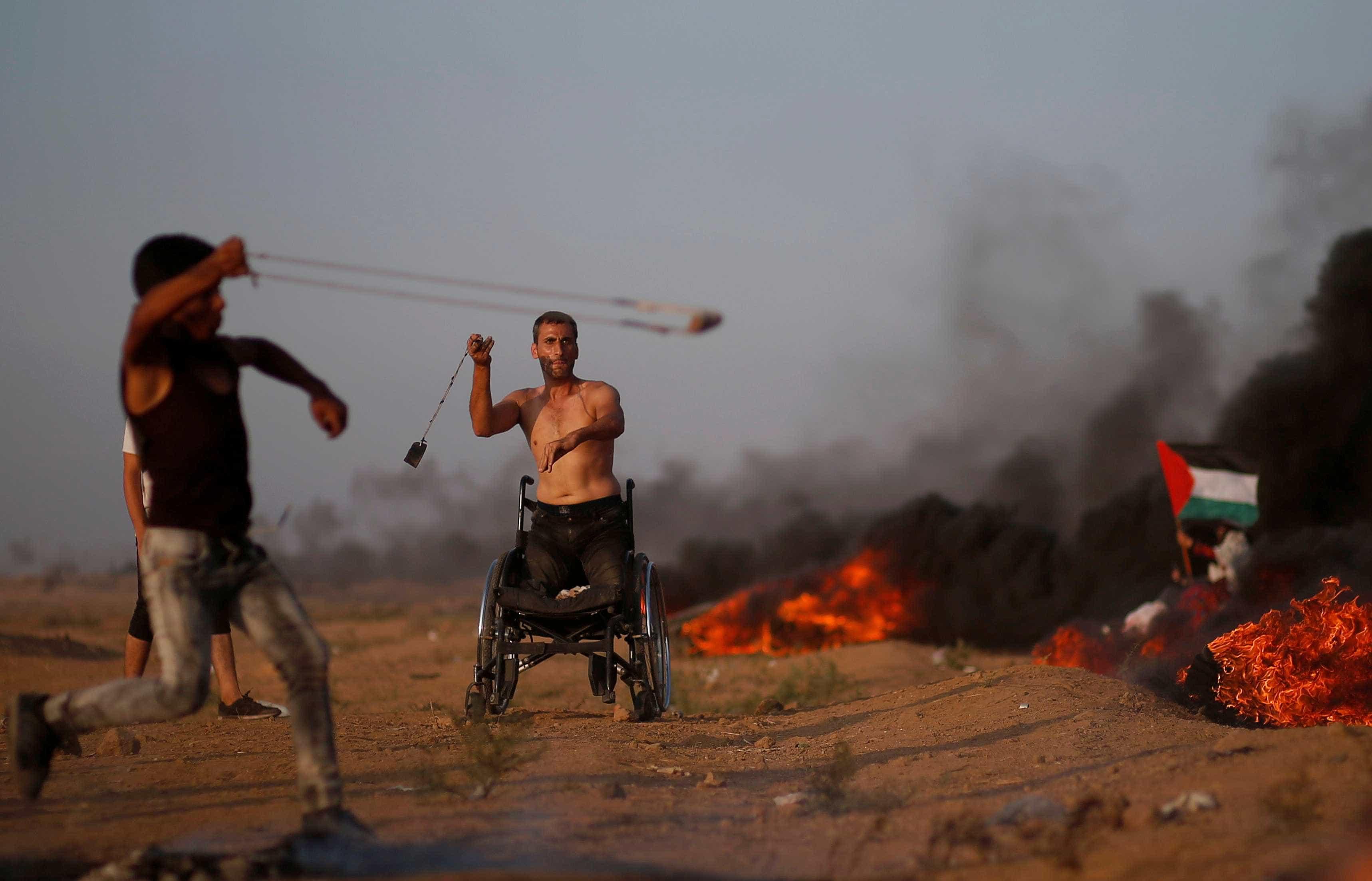 Confrontos em protesto em Gaza deixam 6 palestinos mortos