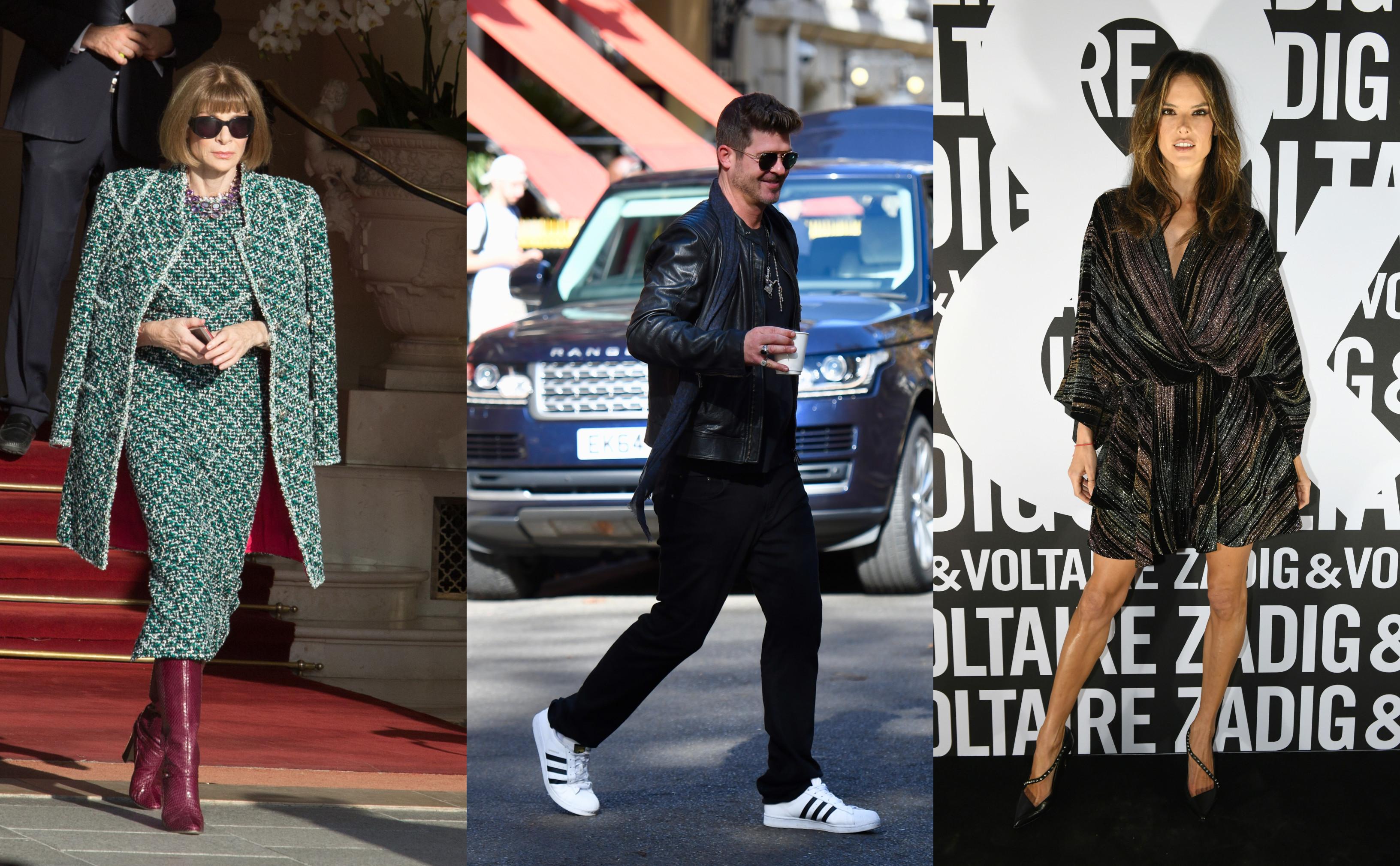Celebridades brasileiras arrasam na Semana de Moda de Paris