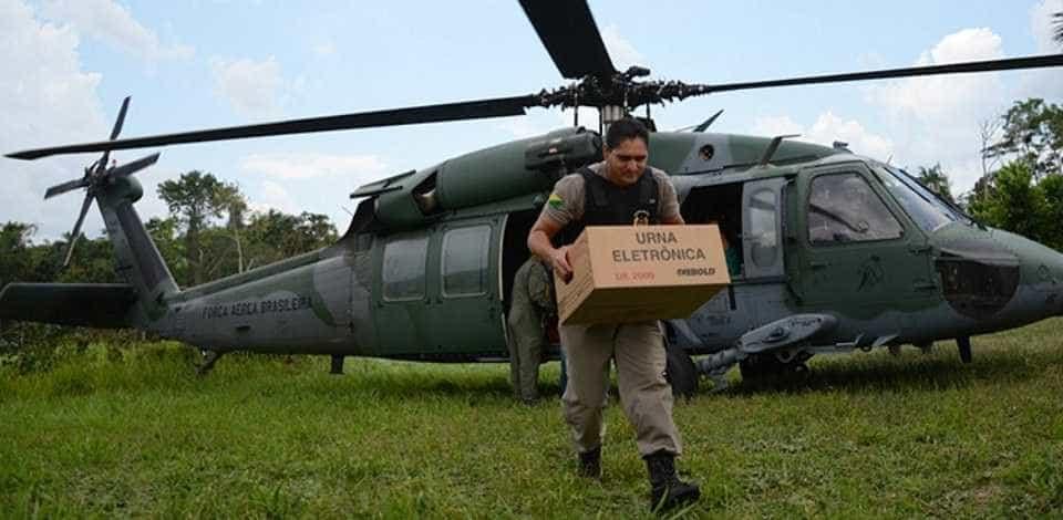 Forças Armadas oferecem apoio a 588 municípios nas eleições