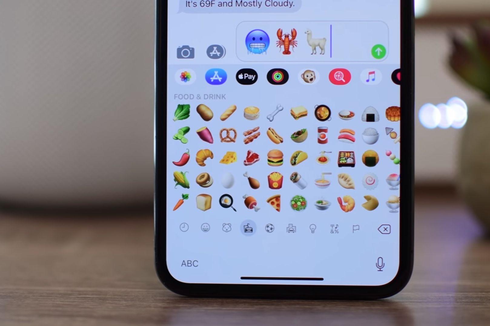iPhone vai lançar 70 movos emojis