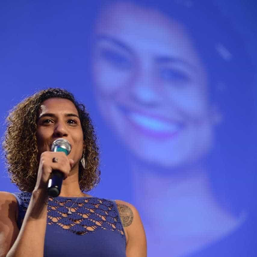 Irmã de Marielle relata agressão verbal de apoiadores de Bolsonaro