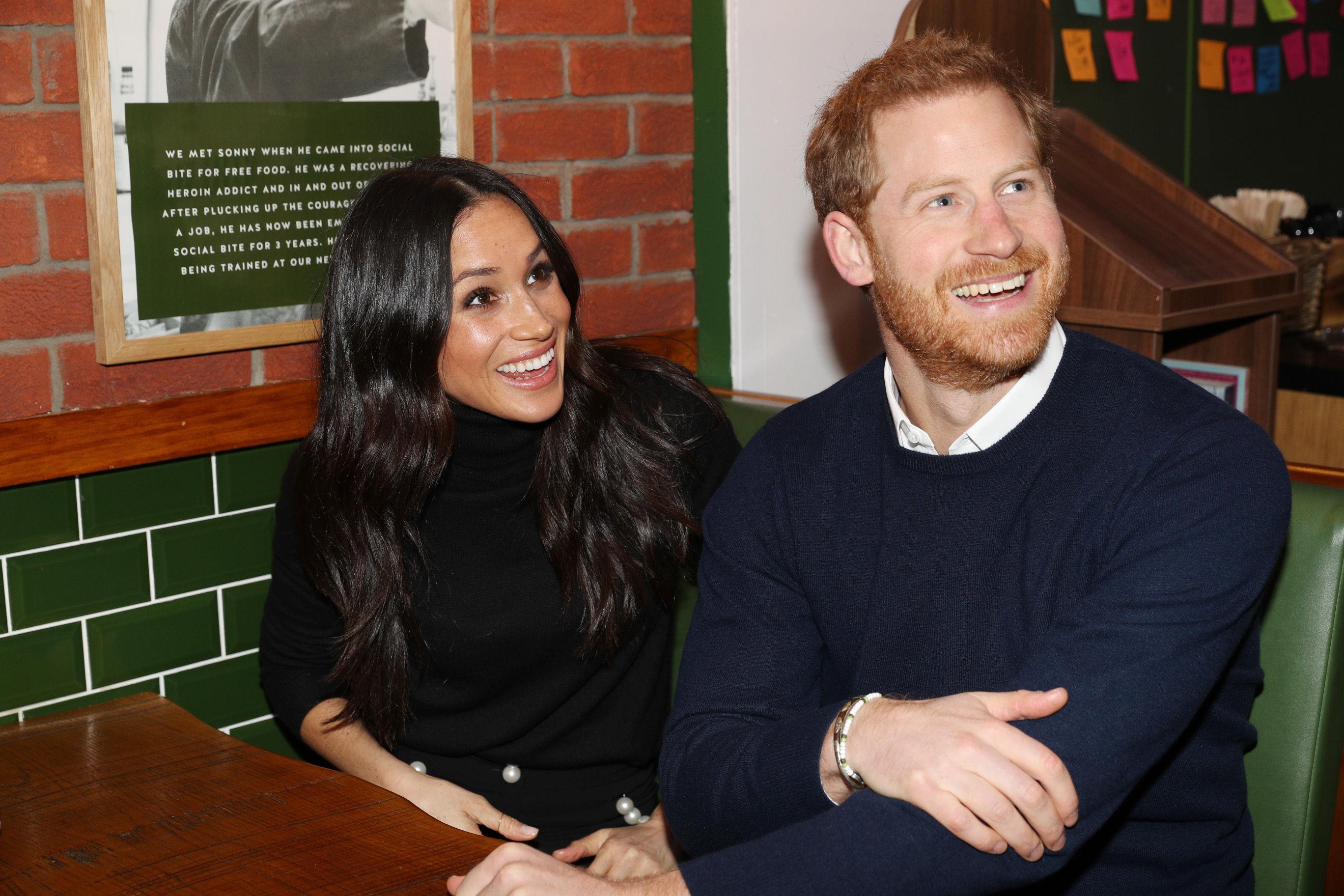 Meghan e príncipe Harry estão esperando o primeiro bebê