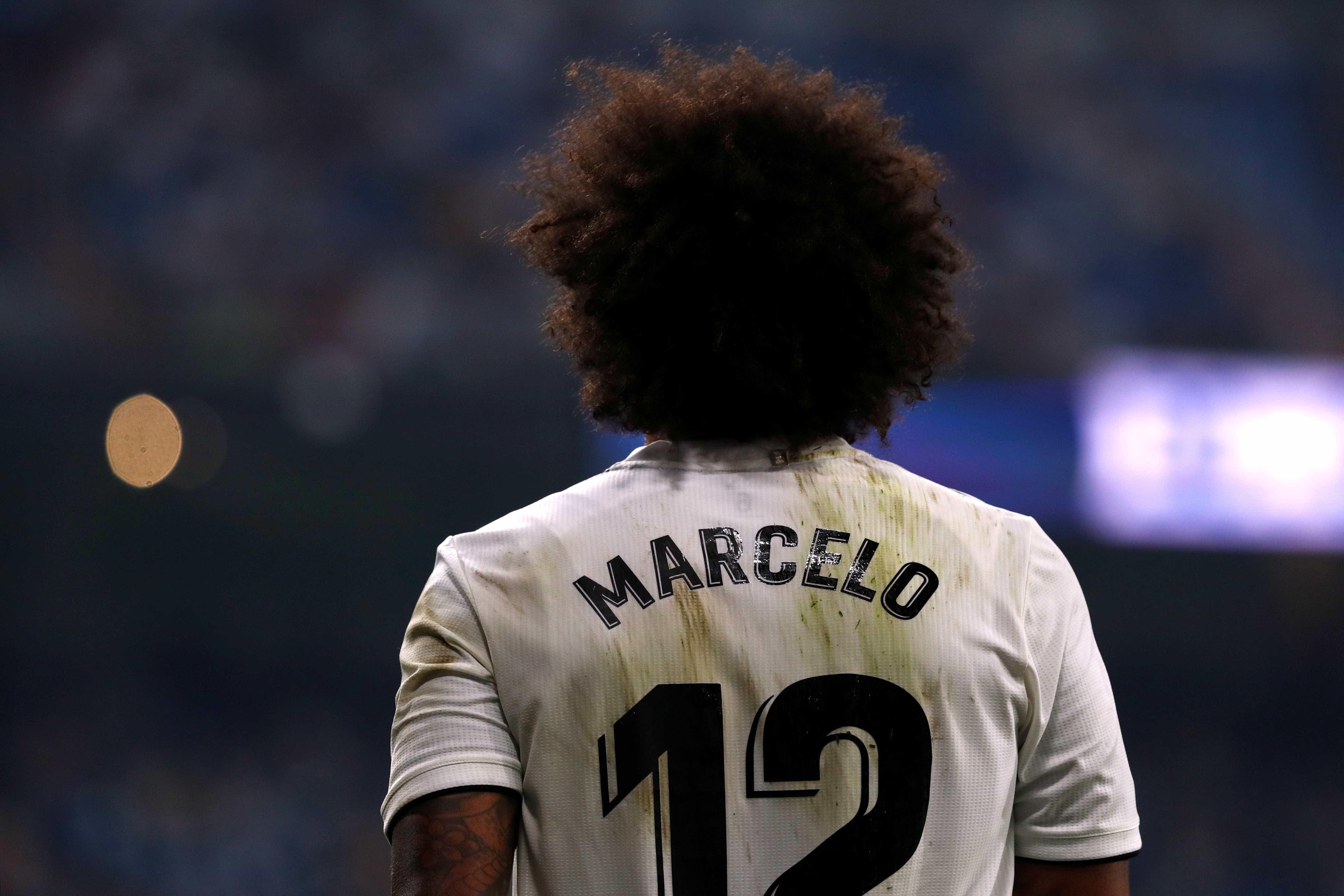 Recuperado de lesão, Marcelo volta a treinar no Real Madrid