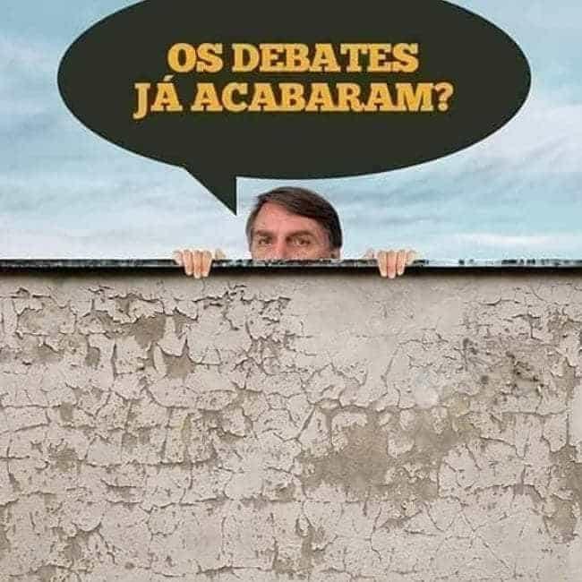 Bolsonaro vai faltar a debates e vira 2º tema mais comentado no Twitter