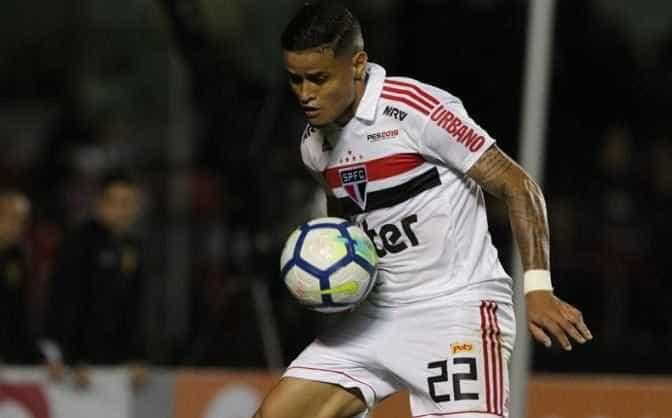 Everton sofre lesão e desfalca São Paulo nas próximas rodadas