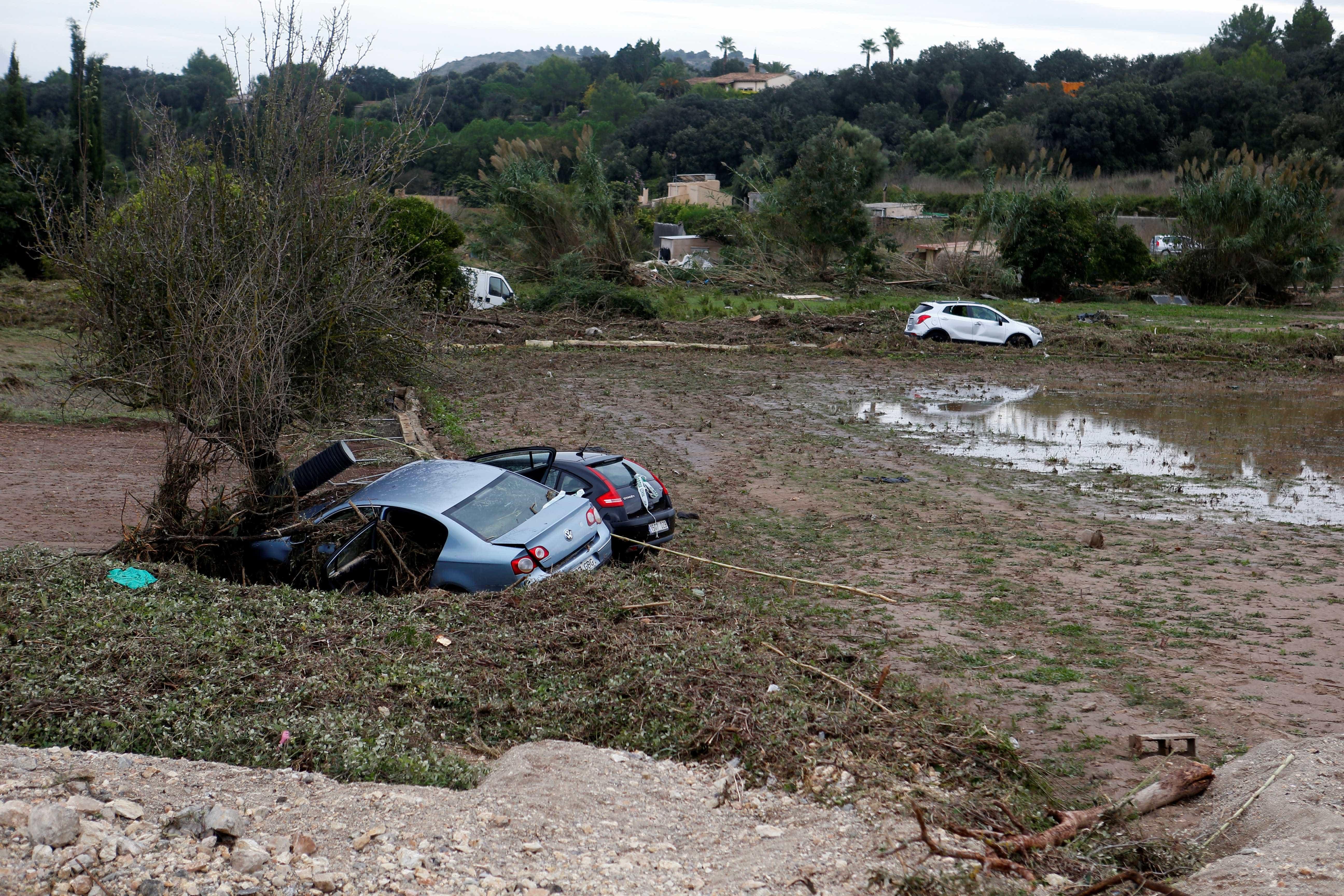 Criança e casal continuam desaparecidos após tempestade em Maiorca