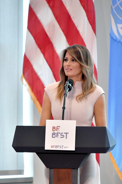 'Sou a pessoa que mais sofre bullying', diz Melania Trump