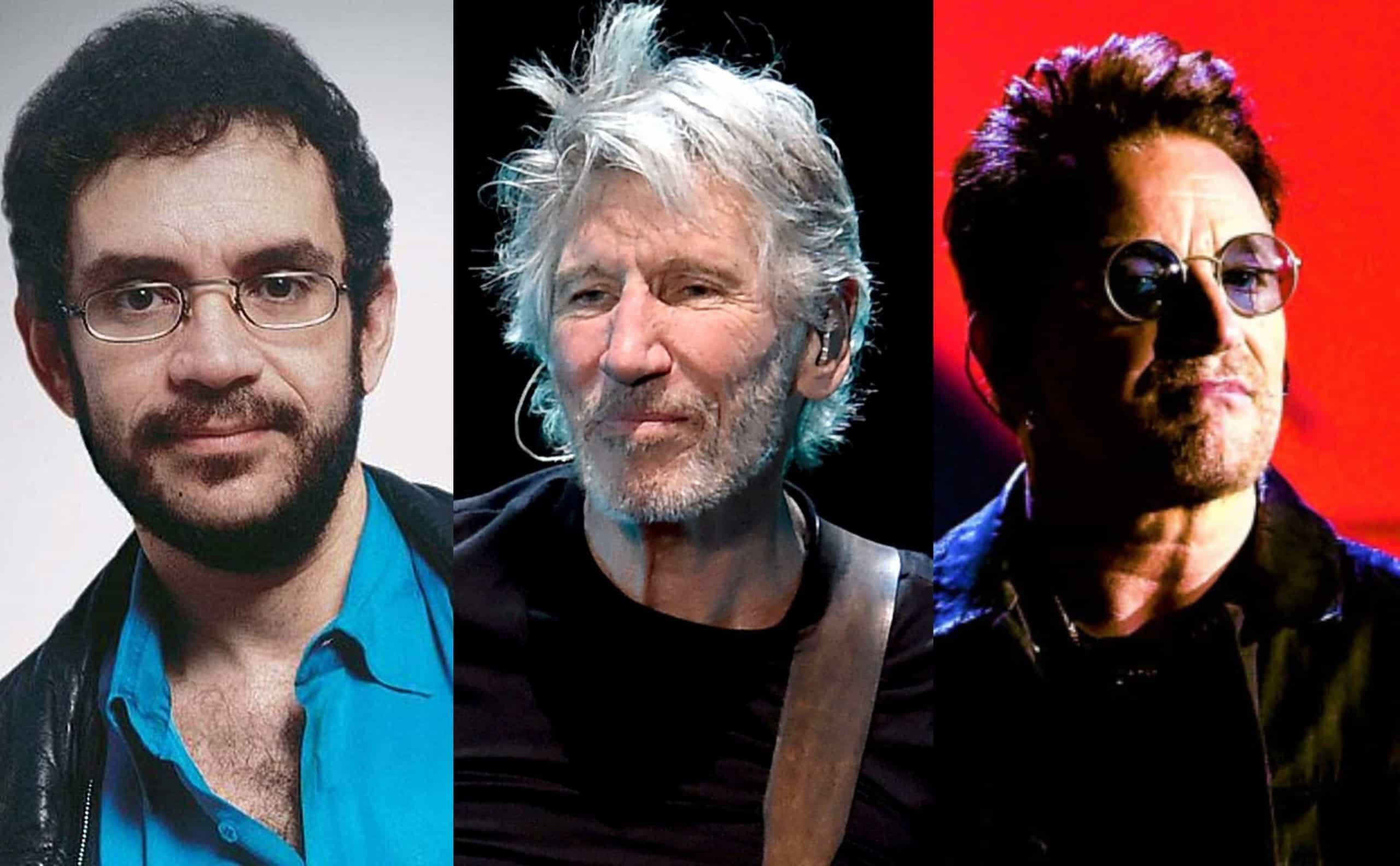 Roger Waters e outros astros que usam a música como forma de protesto
