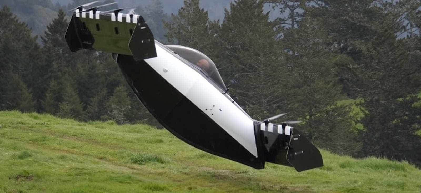 Veículo voador do cofundador da Google chegará ao mercado em 2019