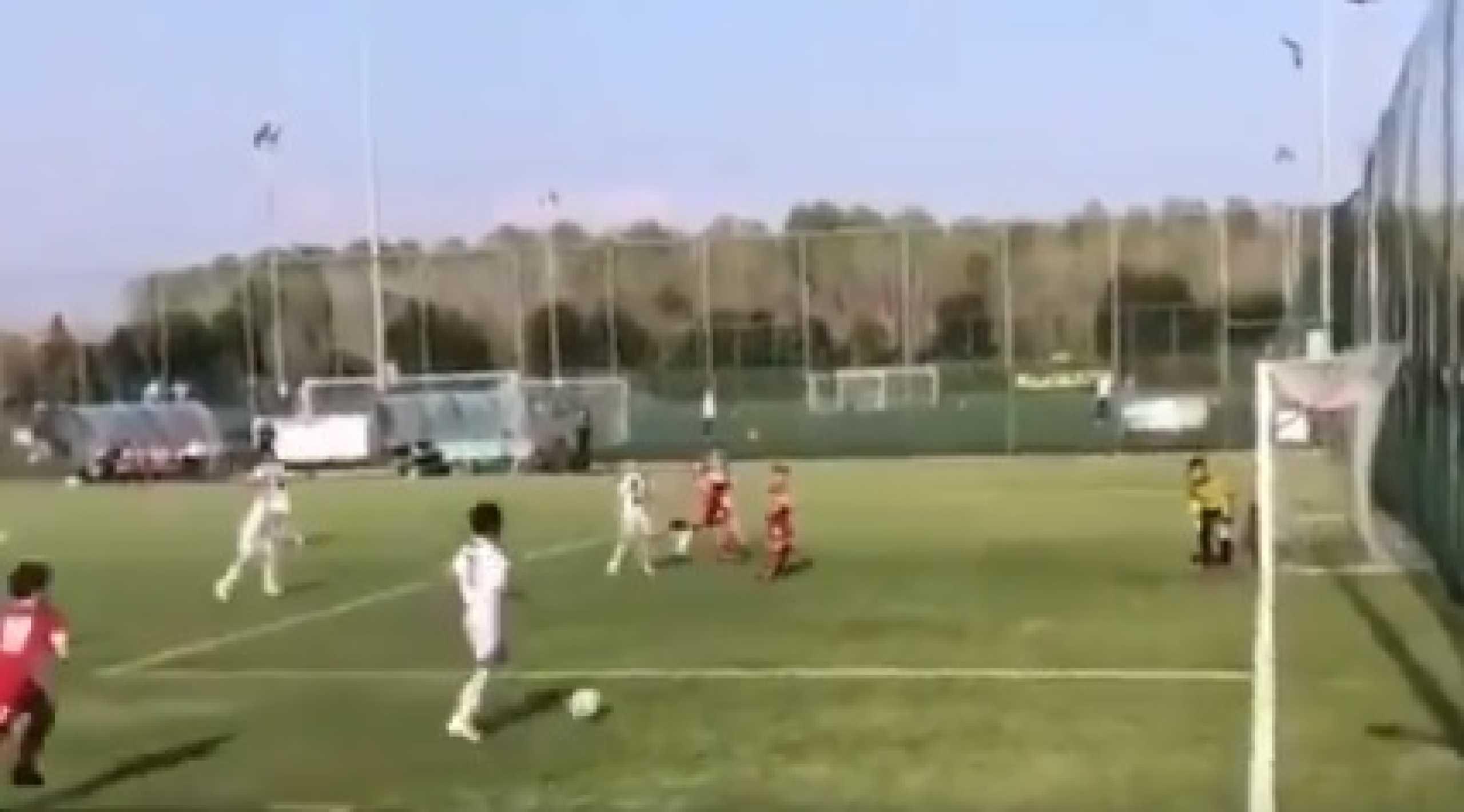 Filho de Cristiano Ronaldo mostra que tem talento igual ao pai; assista