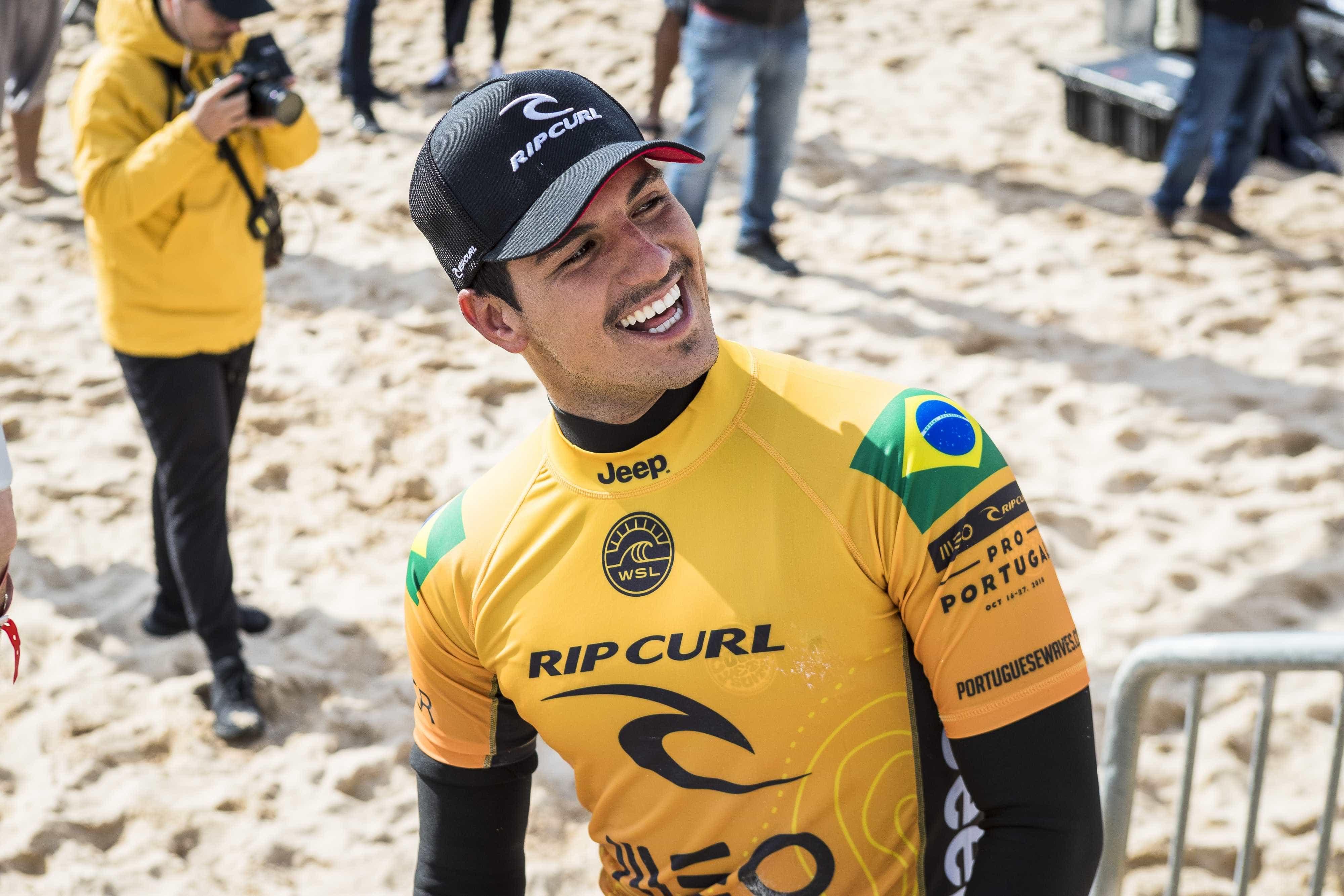 Medina sobre pressão de fãs: 'Brasileiro quer que você ganhe sempre'