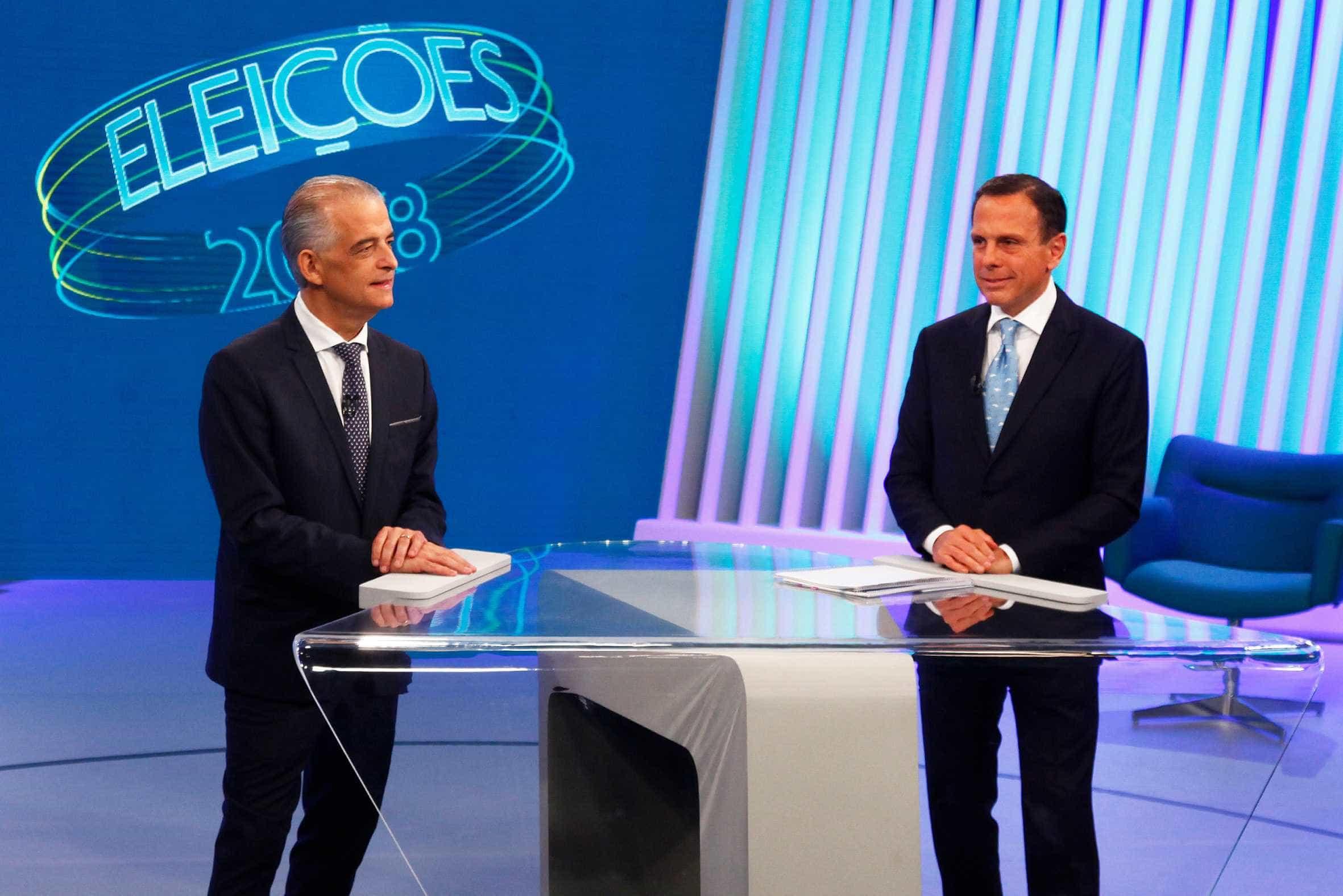 França vai a 51% dos votos válidos em SP e Doria cai para 49%