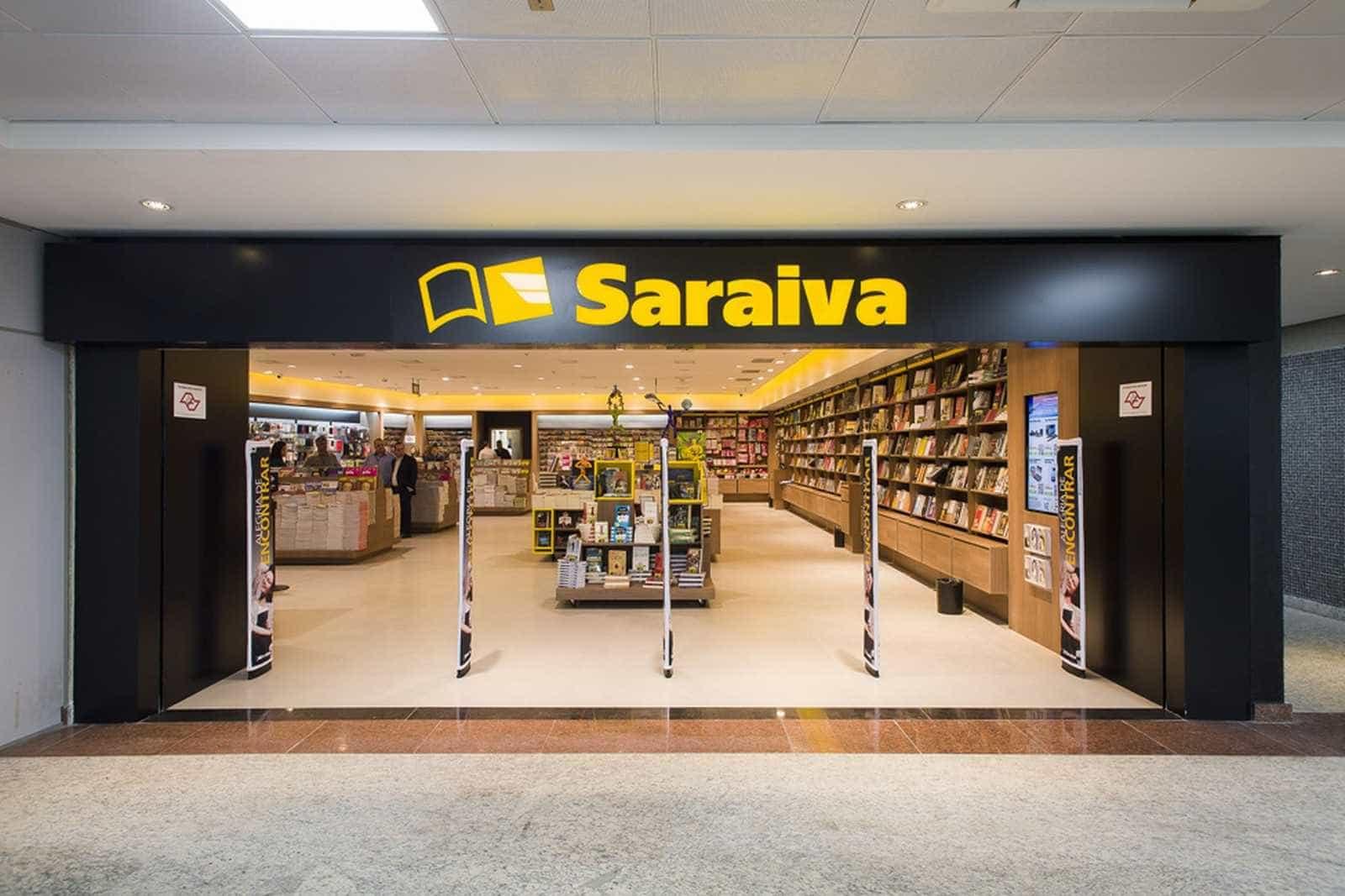 Saraiva decide fechar 20 lojas