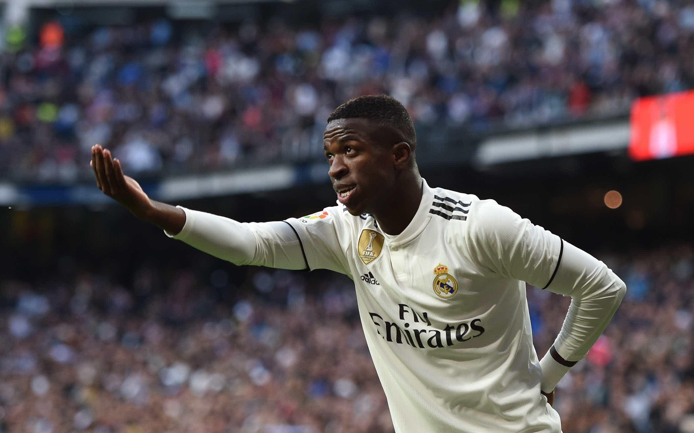 Real Madrid relaciona Vinícius Júnior para o Mundial de Clubes