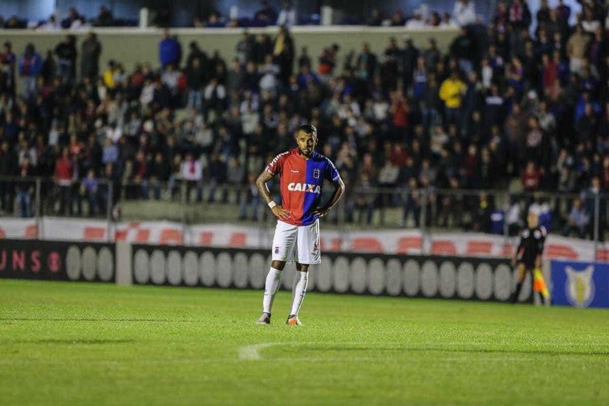 Paraná é rebaixado à Série B com seis rodadas de antecedência