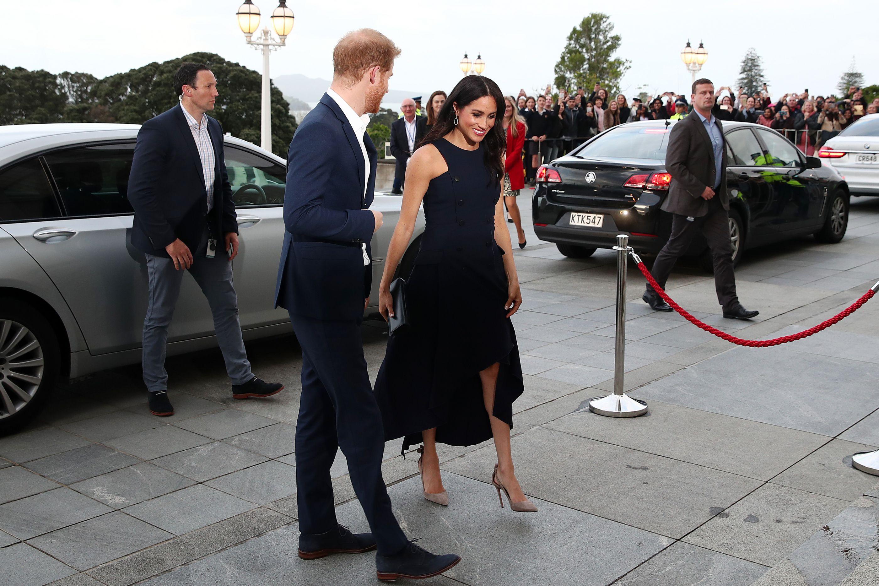 Veja os melhores looks de grávida de Meghan Markle