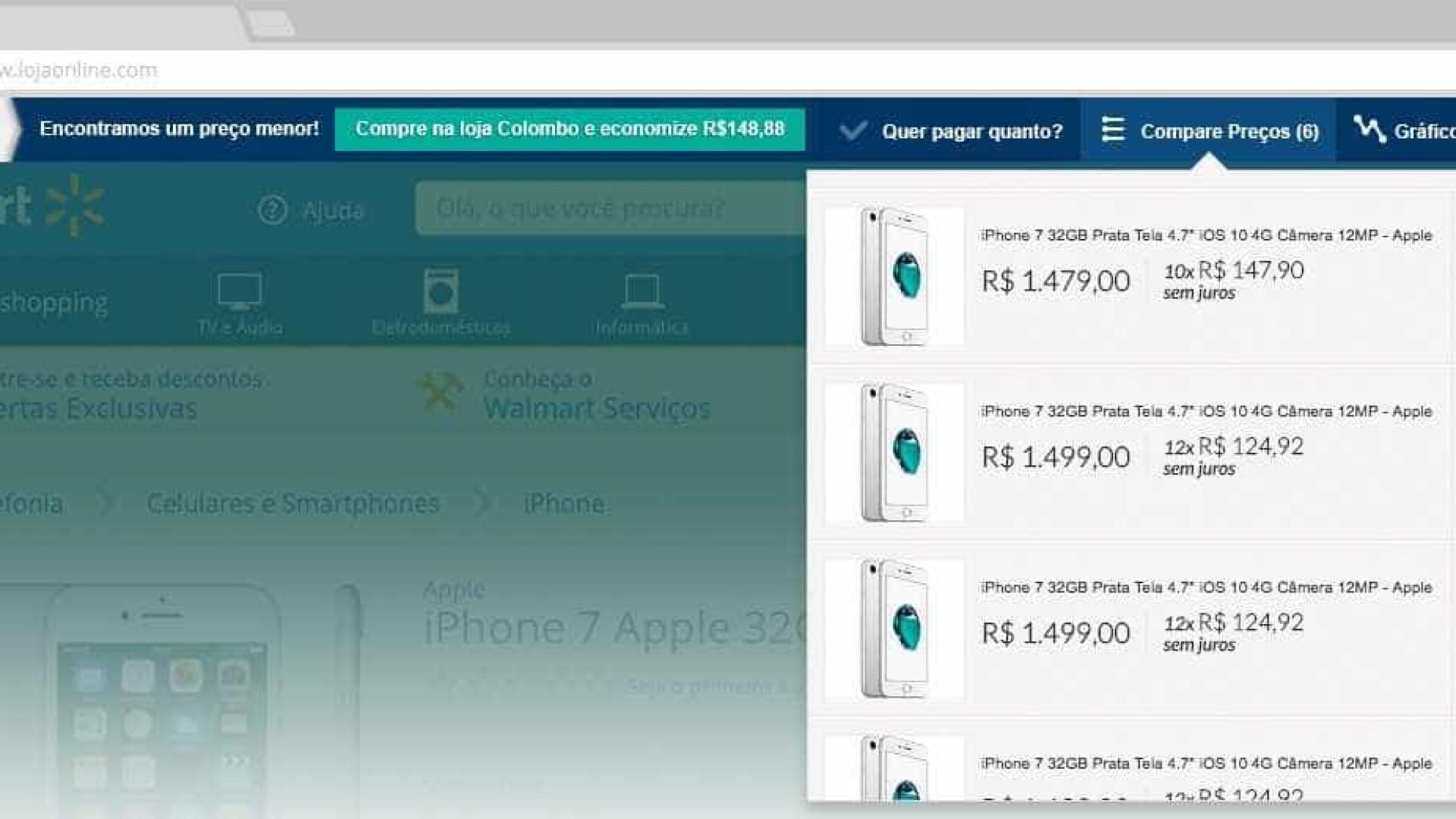 02587ae51 Extensão de navegador mostra se produto está mais barato em outra loja