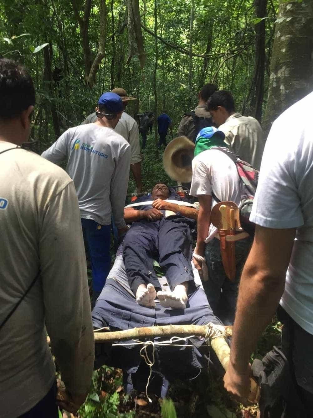 Piloto que sobreviveu após queda de avião teve queimaduras e infecção