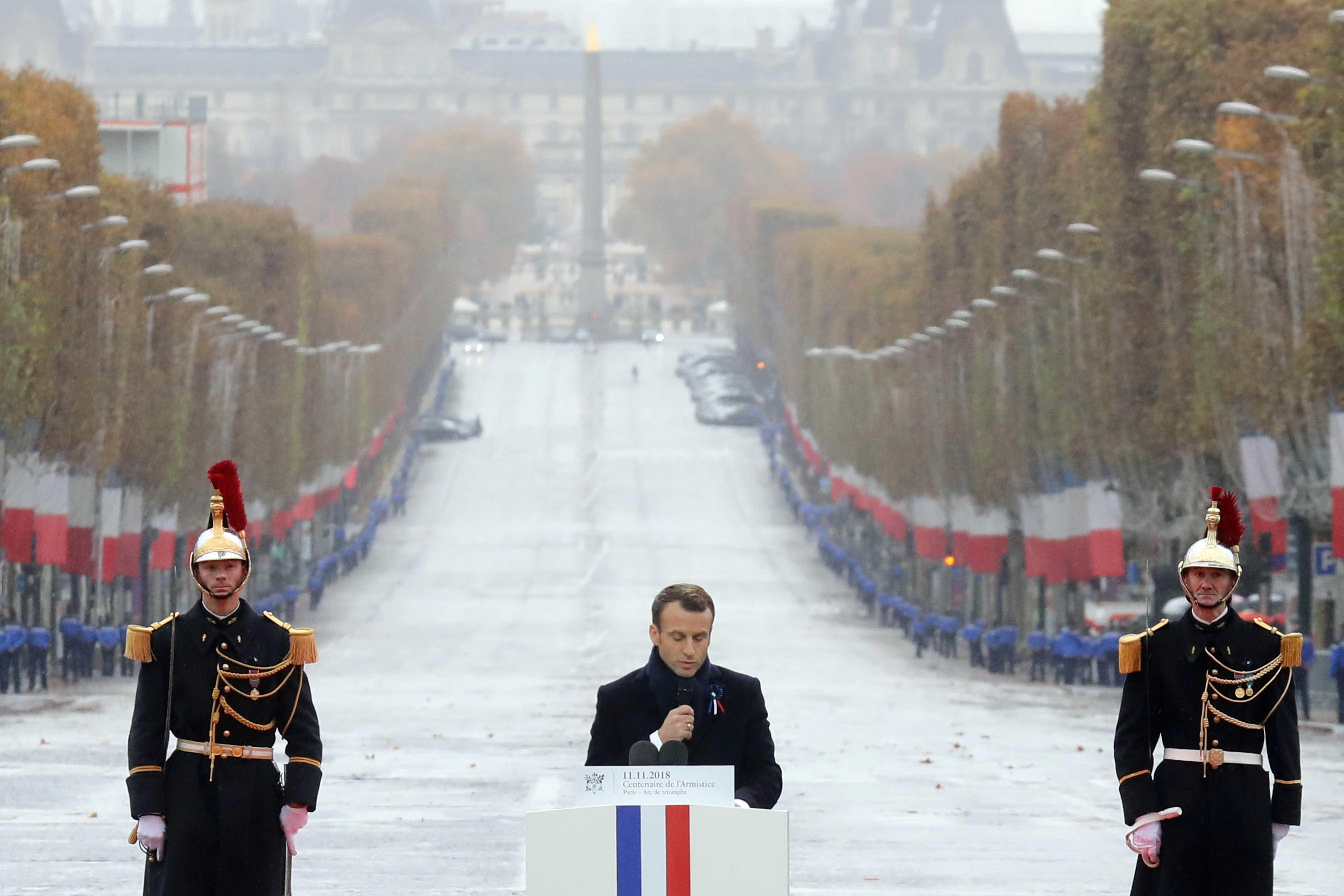 Líderes europeus veem em nacionalismo ameaça à paz