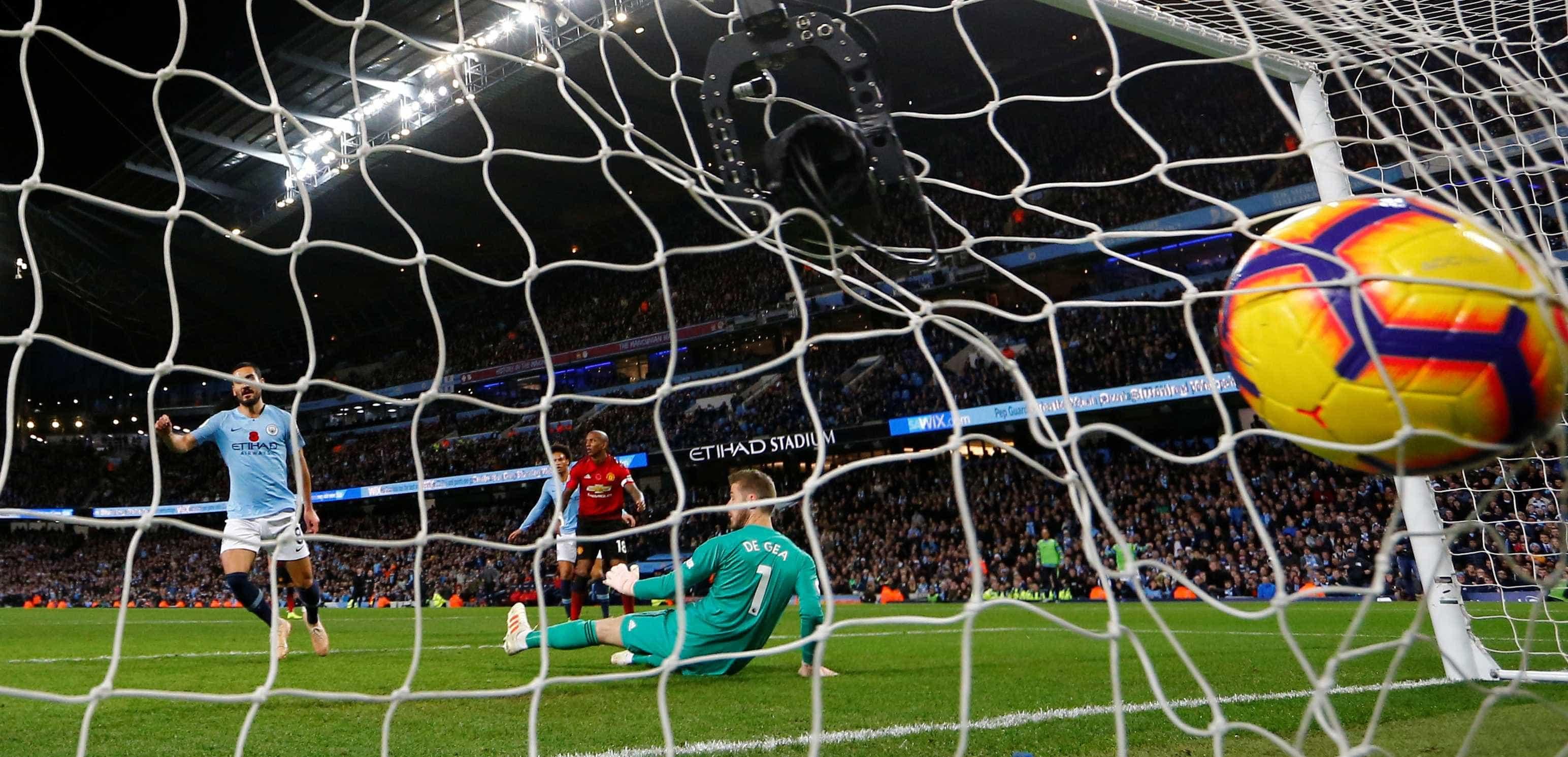 A jogada espetacular do terceiro gol do City contra o United; assista