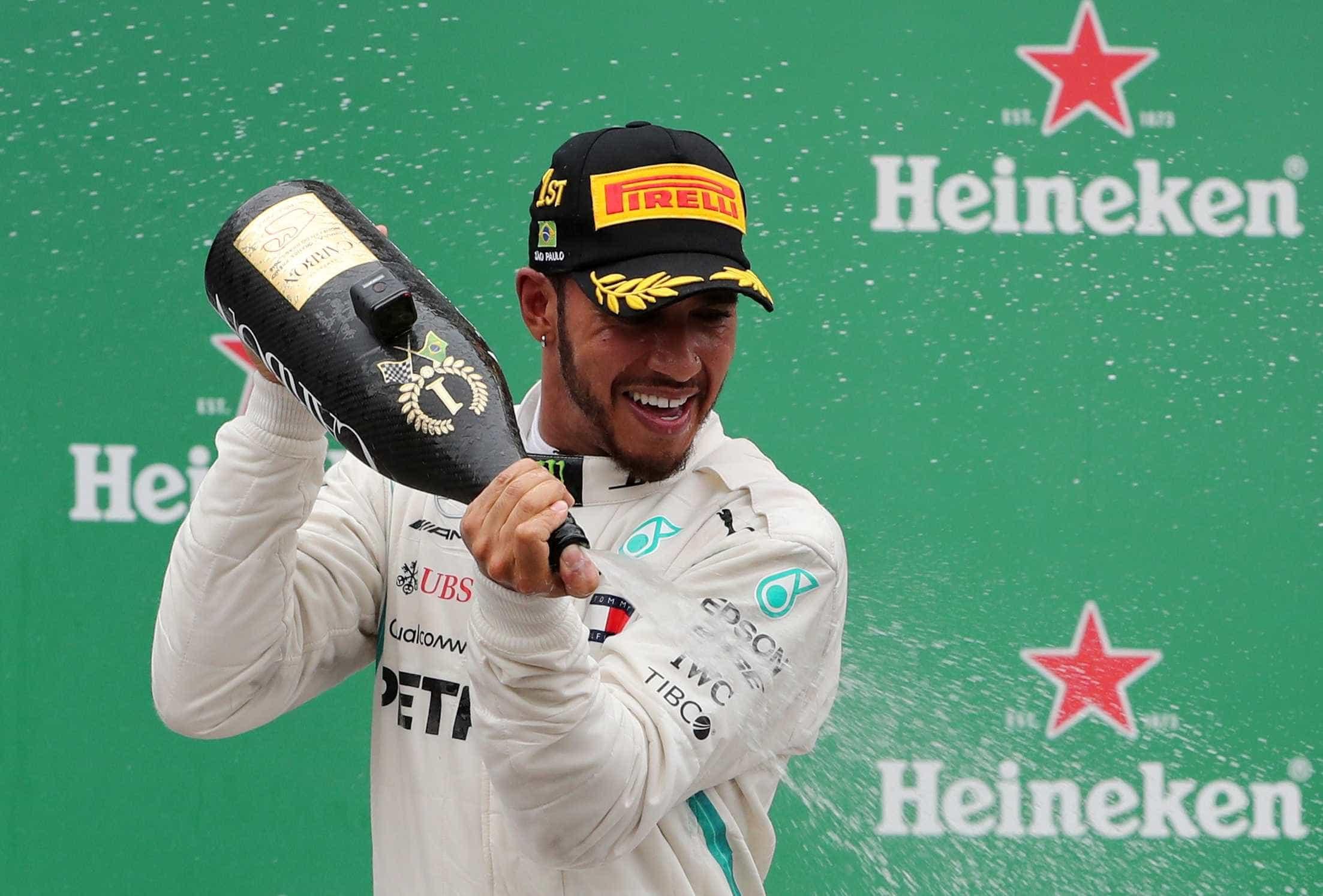 'Tivemos a melhor corrida que poderíamos ter', diz Hamilton em SP