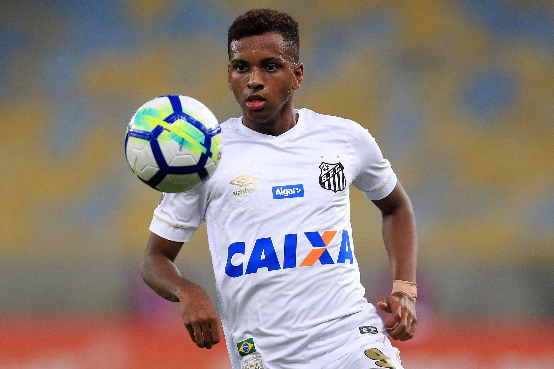 Santos fez pedido ao Real Madrid para ter Rodrygo até fim do ano