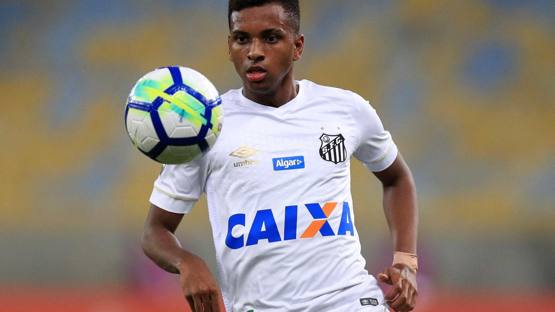 Santos fez pedido ao Real Madrid para ter Rodrygo até fim do ano 07aad8c032119