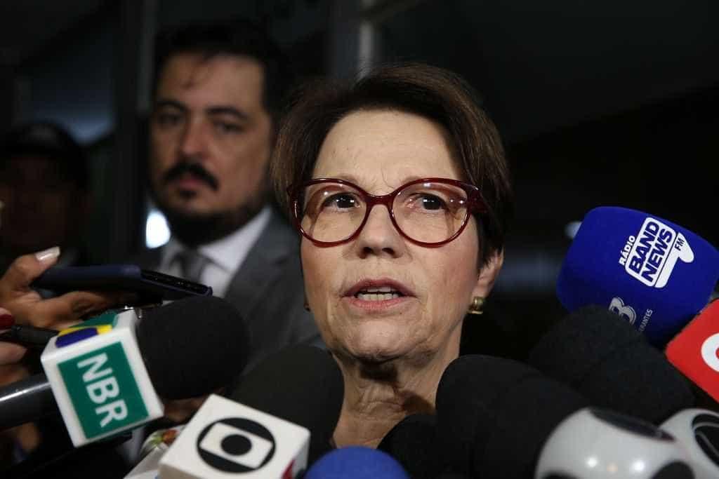 Futura ministra nega parceria com JBS e defende Lei do Agrotóxico