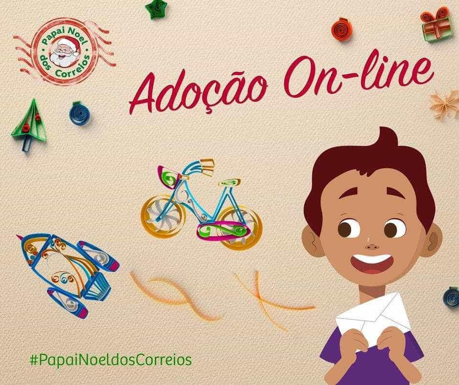 Papai Noel dos Correios: cartas podem ser adotadas pela web