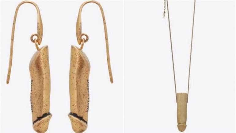 Yves Saint Laurent lança coleção de jóias em formato de pênis