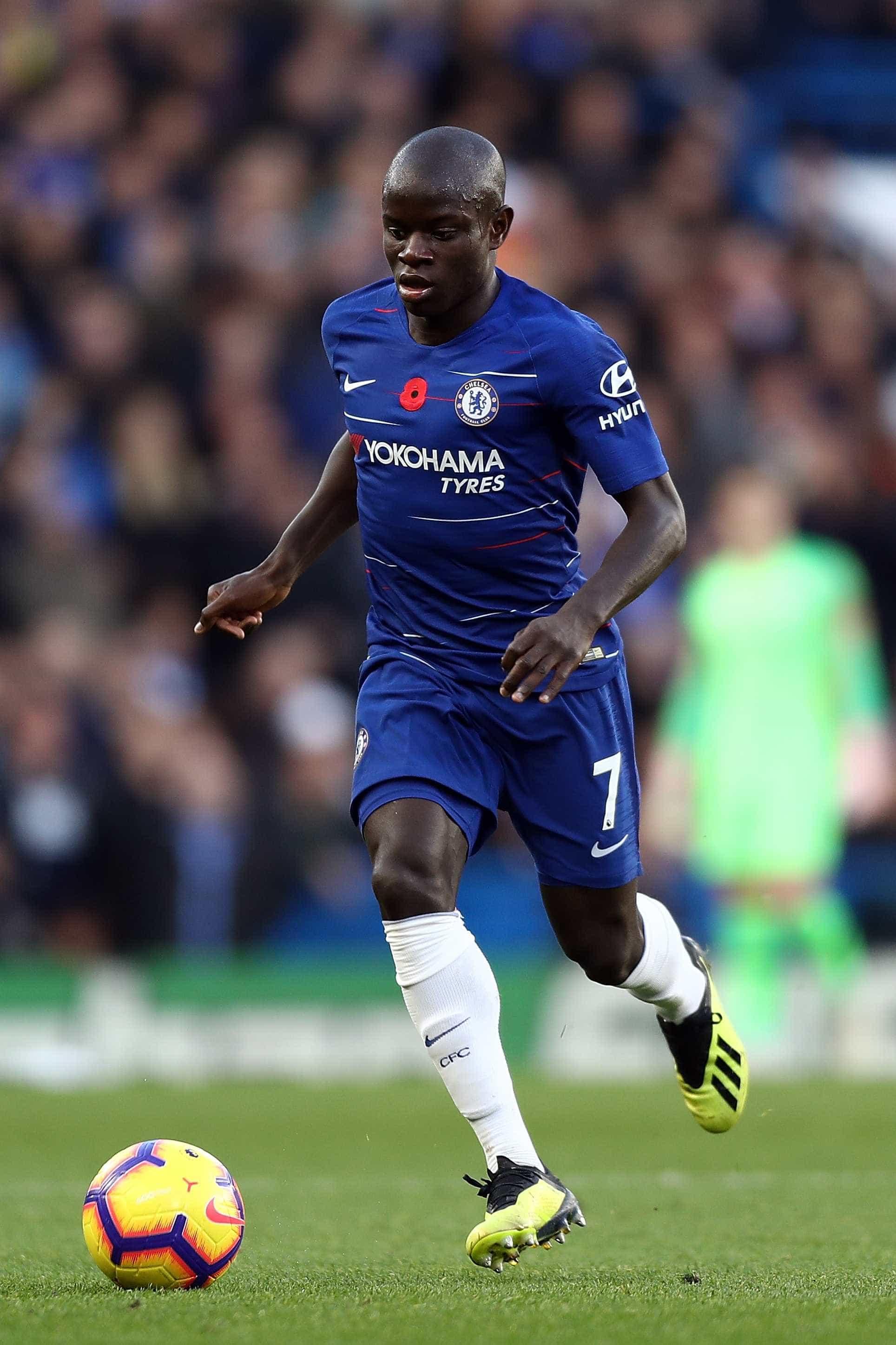 Kanté recusa fuga ao fisco e pede ao Chelsea só 'um salário normal'