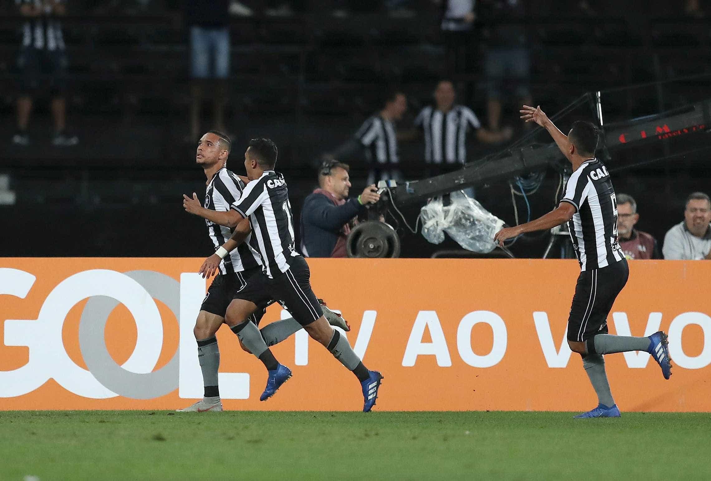 Botafogo vence em Chapecó e se distancia do rebaixamento
