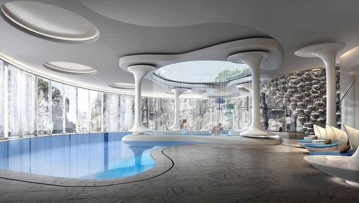 Primeiro hotel subterrâneo do mundo é inaugurado na China; fotos