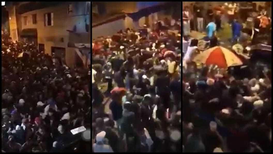 Três morrem pisoteados em tumulto em baile funk em Guarulhos