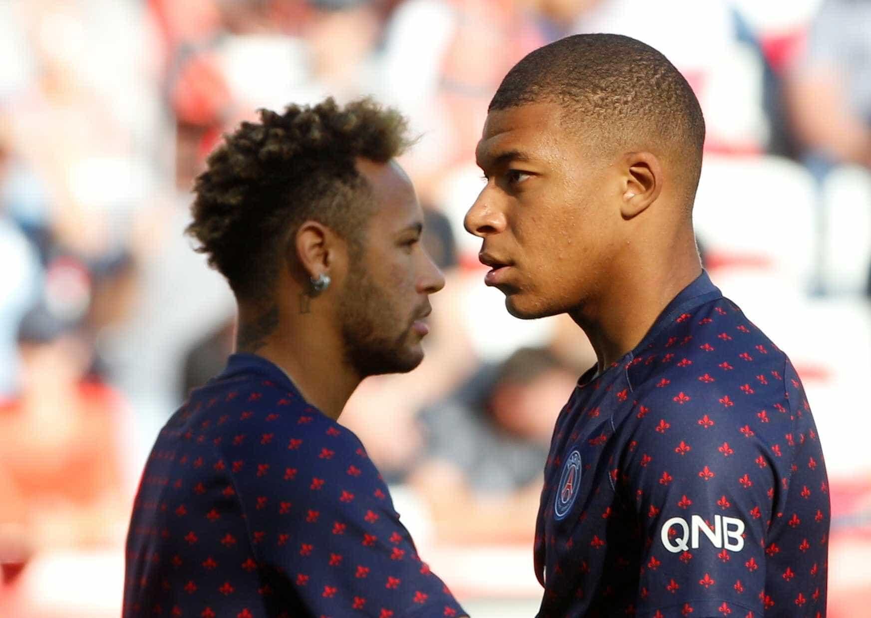 Neymar e Mbappé podem desfalcar PSG na Liga dos Campeões
