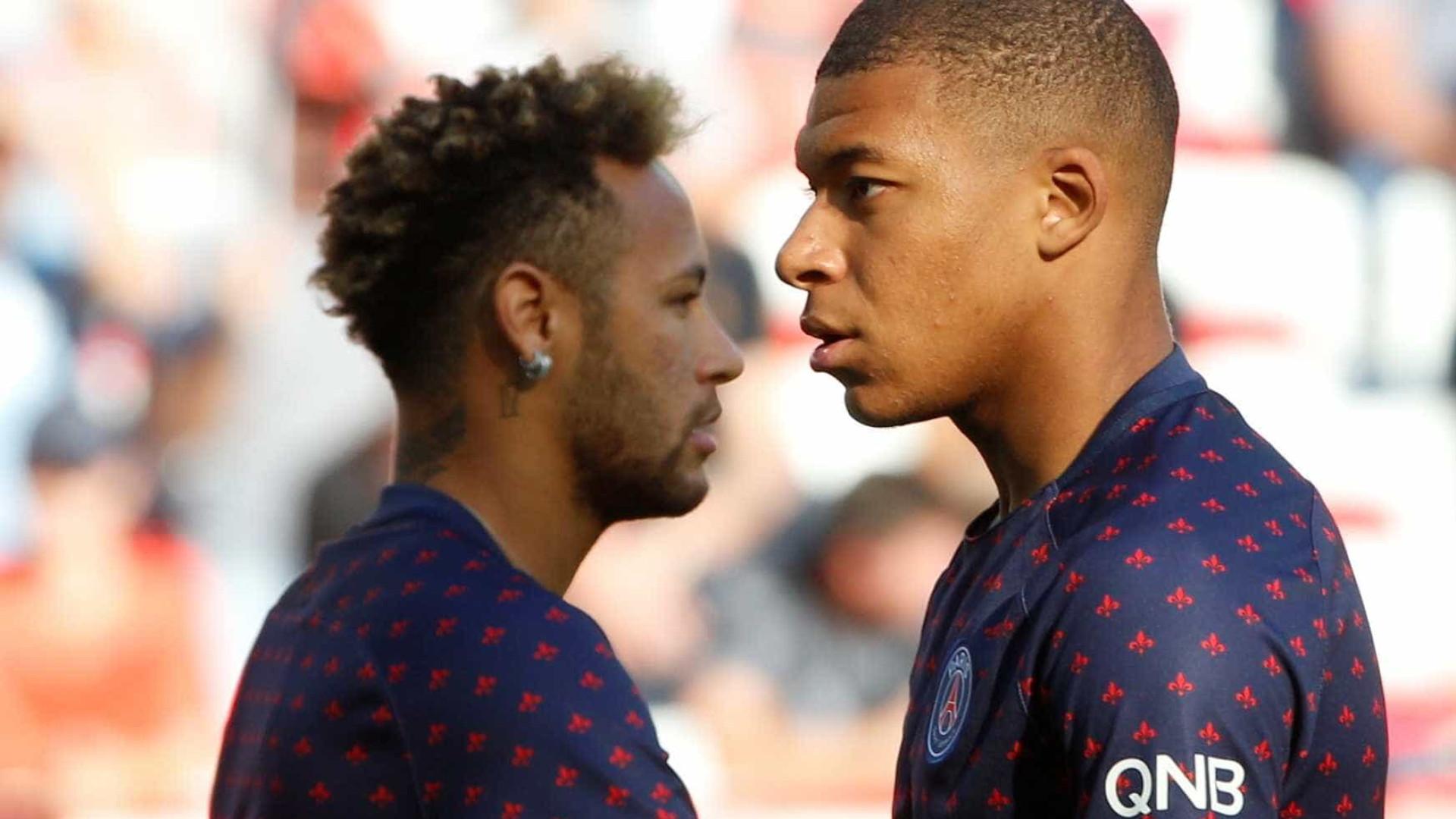 Federação Francesa suspende Mbappé e abre investigação contra Neymar