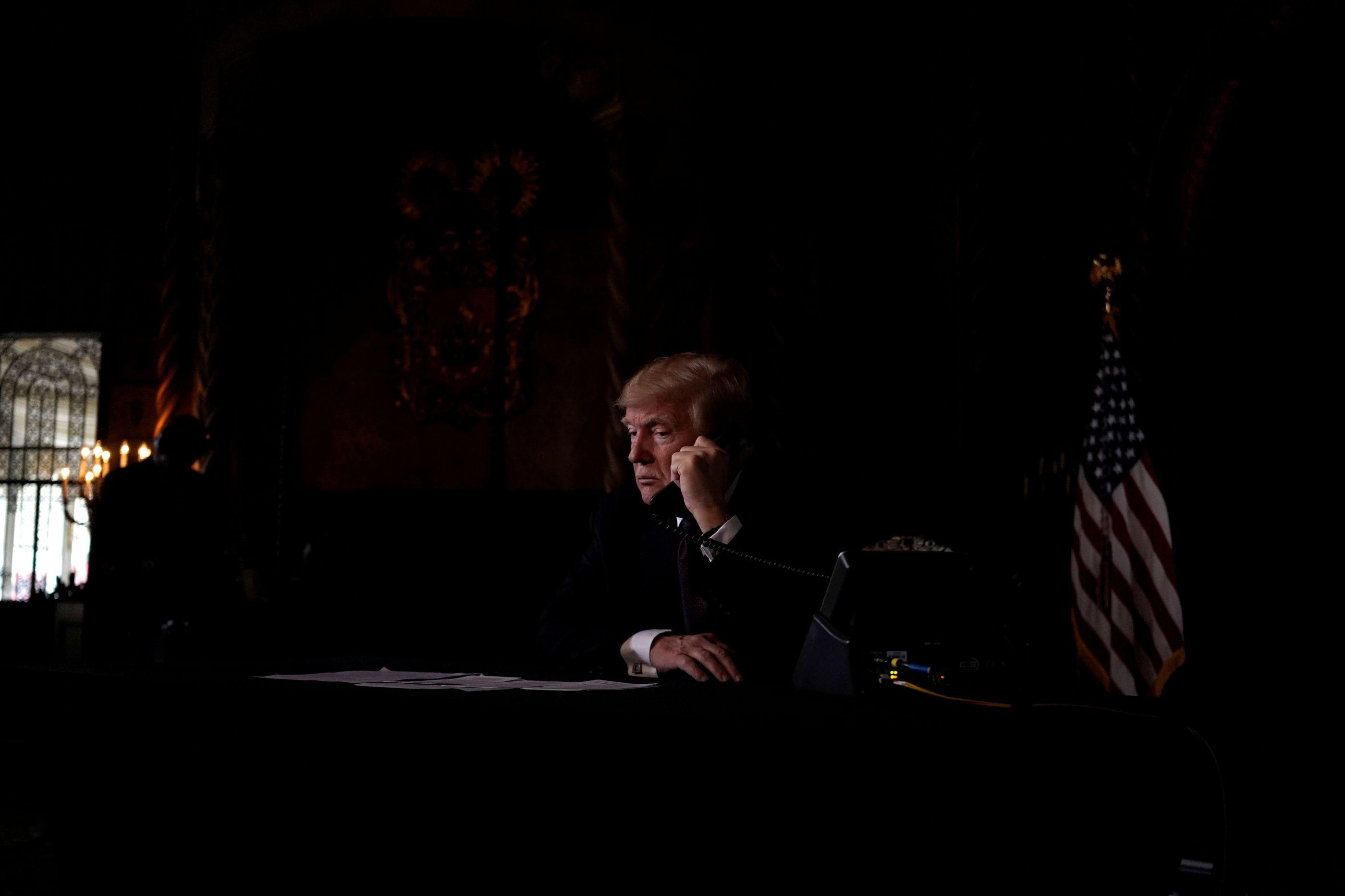 Trump felicita México por aumento das prisões de imigrantes ilegais