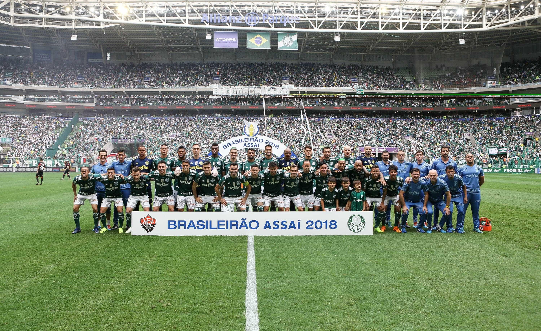 Campeão antecipado, Palmeiras vence e amplia recorde de invencibilidade