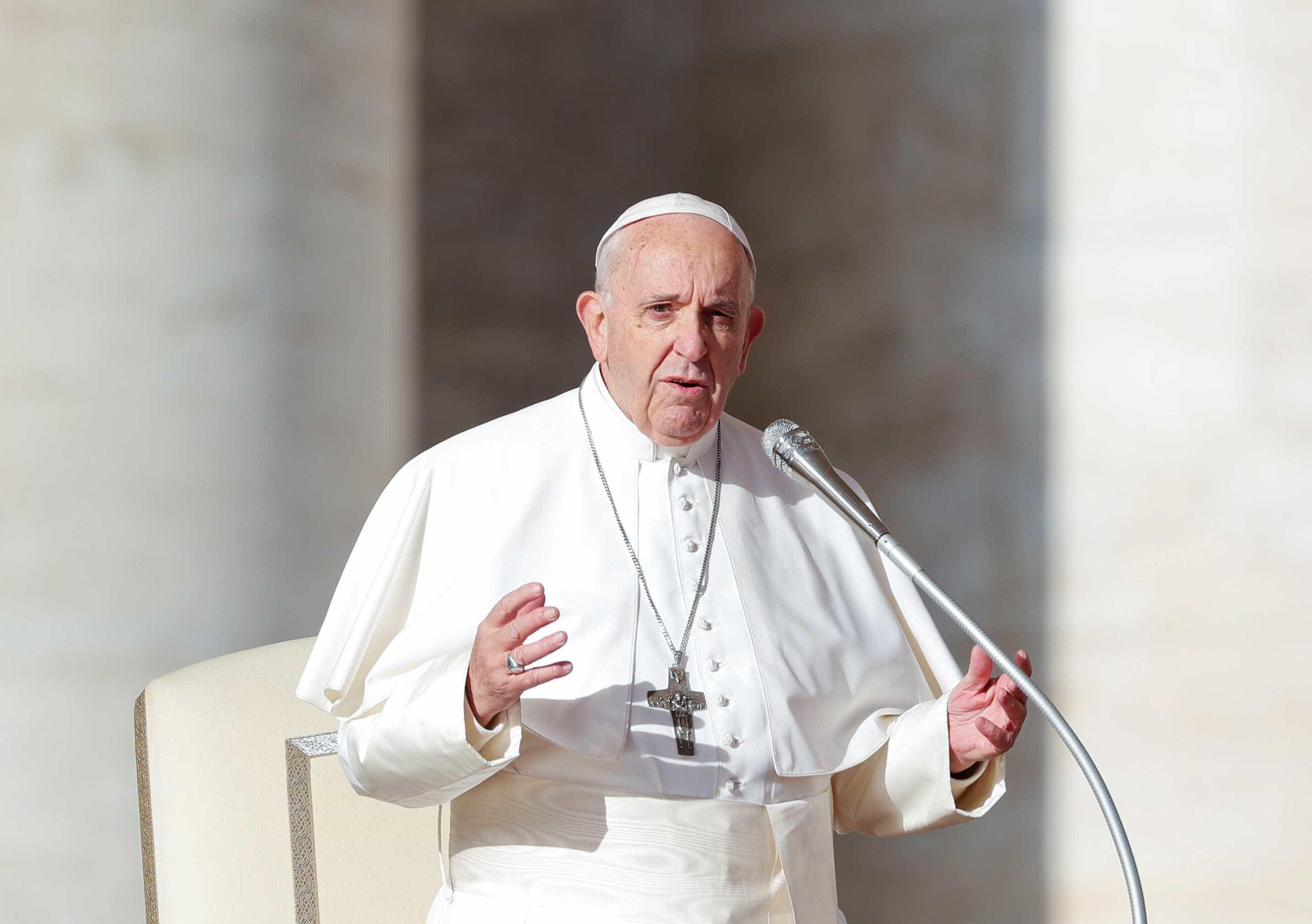 Papa diz que cúpula sobre abusos é ato de responsabilidade