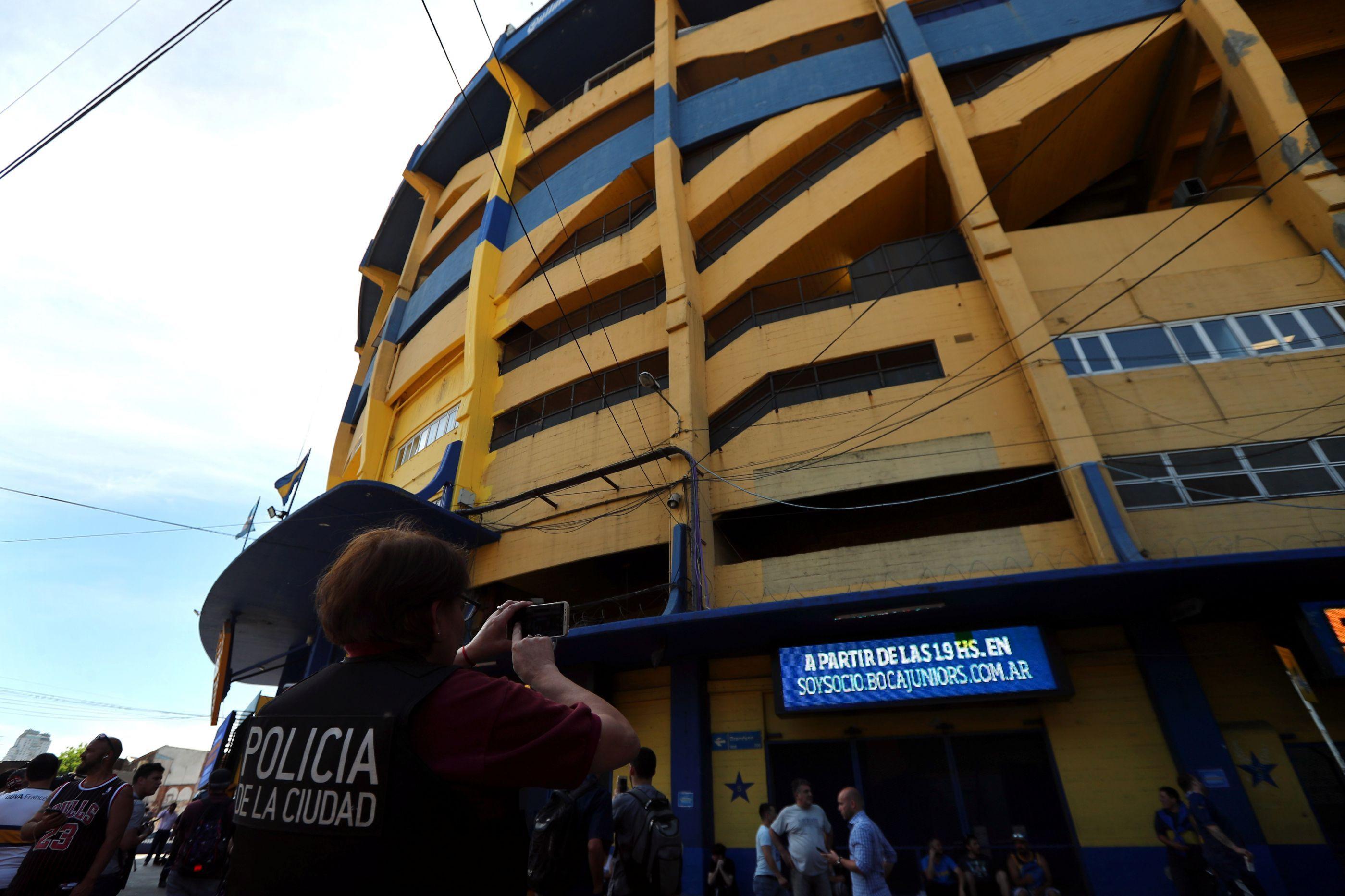Estádio do Boca Juniors é evacuado após ameaça de bomba