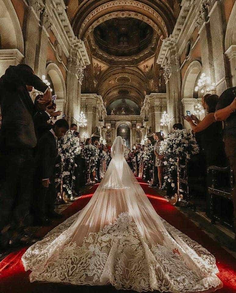 Nicole Bahls e Marcelo Bimbi se casam no Rio; famosos prestigiam