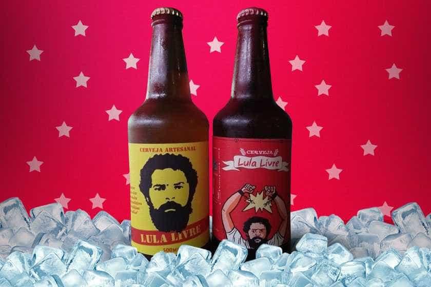 Cariocas lançam cervejas 'Lula Livre' em homenagem ao ex-presidente